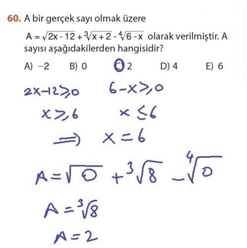 9. Sınıf Meb Matematik Sayfa 184-194 Cevapları 60