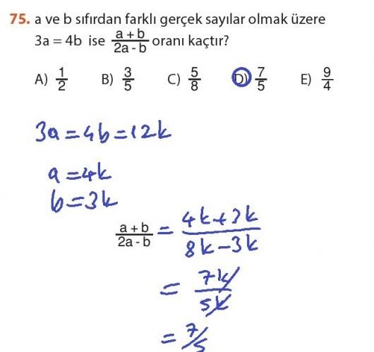 9. Sınıf Meb Matematik Sayfa 184-194 Cevapları 75