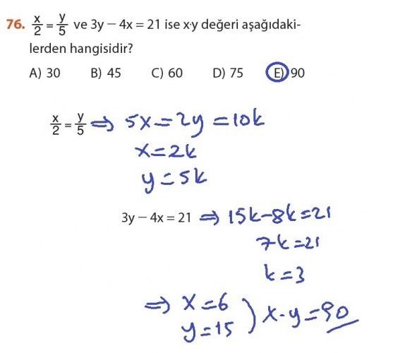 9. Sınıf Meb Matematik Sayfa 184-194 Cevapları 76