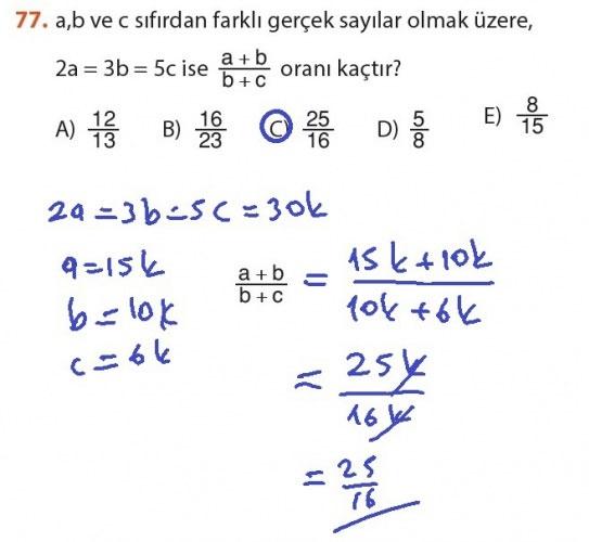 9. Sınıf Meb Matematik Sayfa 184-194 Cevapları 77
