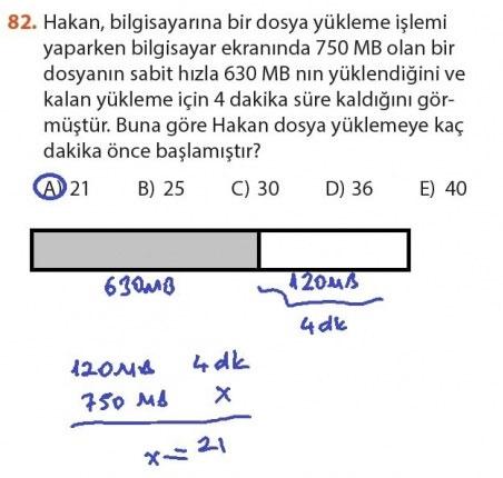 9. Sınıf Meb Matematik Sayfa 184-194 Cevapları 82