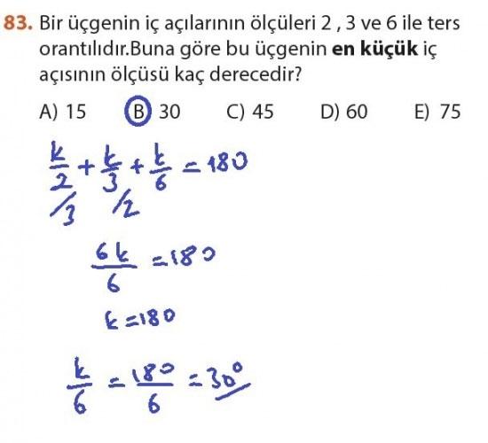 9. Sınıf Meb Matematik Sayfa 184-194 Cevapları 83