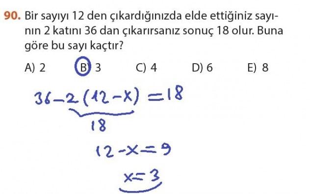 9. Sınıf Meb Matematik Sayfa 184-194 Cevapları 90