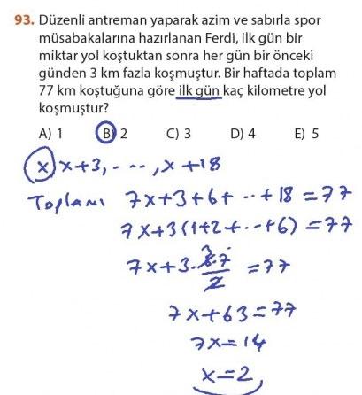 9. Sınıf Meb Matematik Sayfa 184-194 Cevapları 93