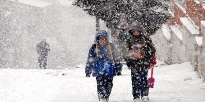 Okullara Kar Tatili Olan Verilen İller ve İlçeler - Son Durum - 17 Aralık 2012 Pazartesi