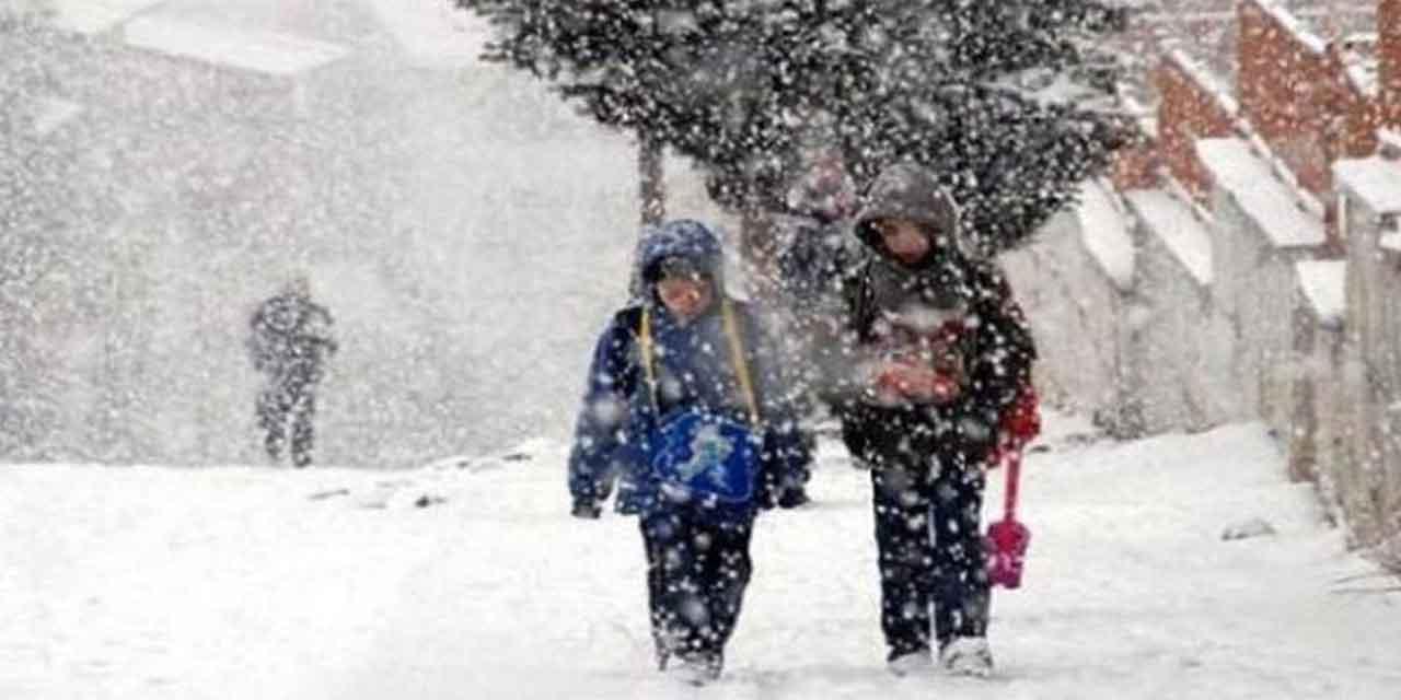 15 Ocak Salı Kar Tatili olan iller ve ilçeler
