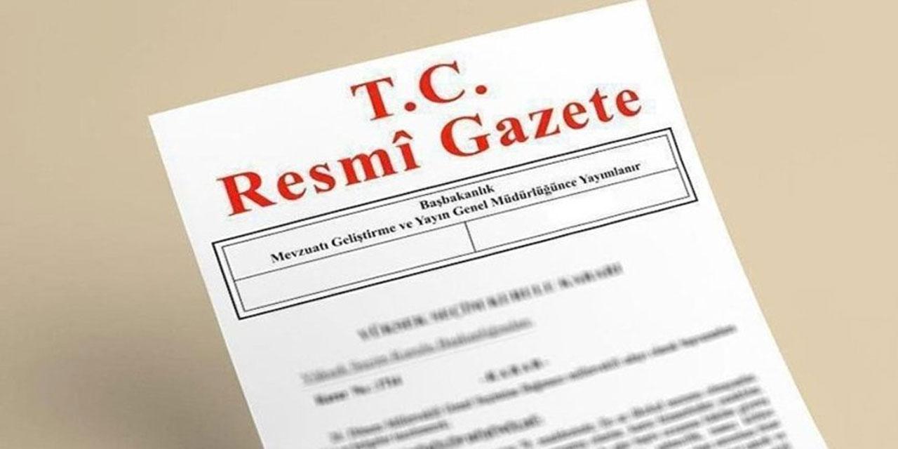 Bakanlıkların atama kararları Resmi Gazete'de