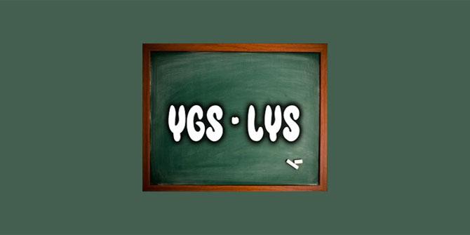YGS'de çıkmış sorular ve konu dağılımları