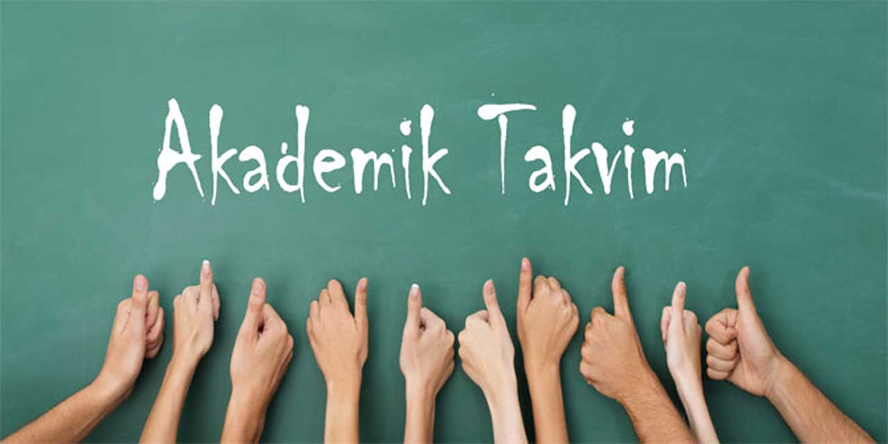 Kırklareli Üniversitesi Akademik Takvimi