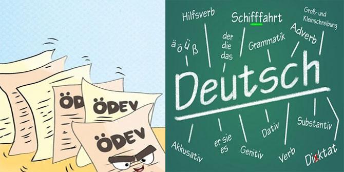 10. Sınıf Koza Almanca Çalışma Kitabı 8. Ünite Cevapları