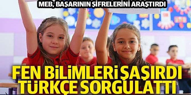 2019 4. Sınıf Seviyesi Türkçe-Matematik-Fen Bilimleri Öğrenci Başarı İzleme Araştırmas