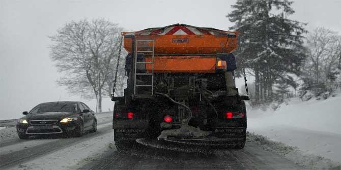 Kışın yollara tuz atılmasının sebebi