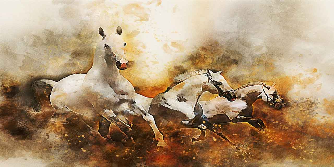 Atın ürkeği, yiğidin korkağı