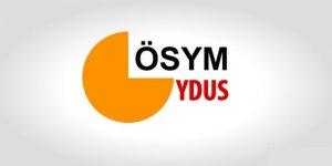 YDUS sonuçları açıklandı