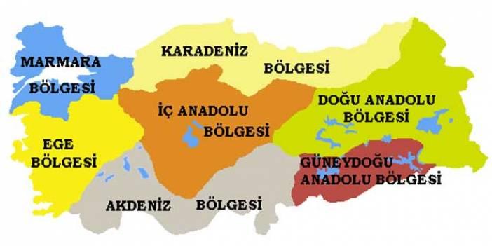 Türkiye'nin adı iki harften oluşan tek ilçesi hangi coğrafi bölgededir