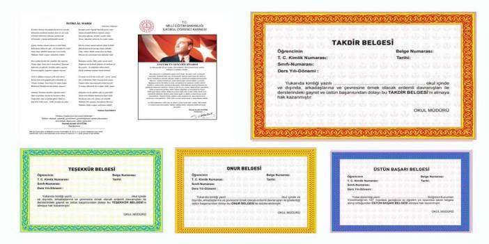 Onur belgesi nasıl alınır, onur belgesi kimlere verilir