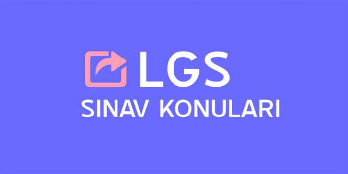 LGS Türkçe konuları