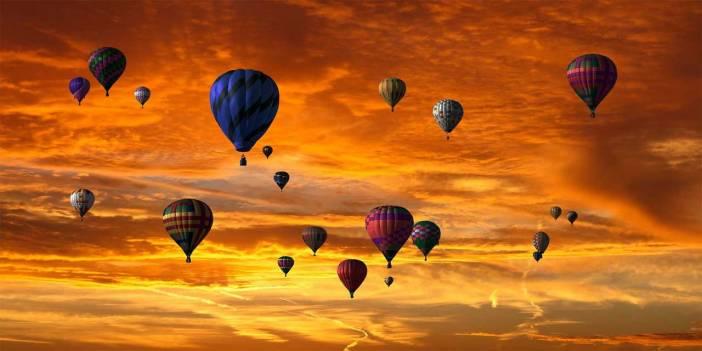 Balon ve şişenin içindeki havanın şekli