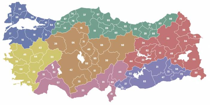 Şekilsel bölgelerden hangilerinin sınırlarının değişimi daha zor olabilir