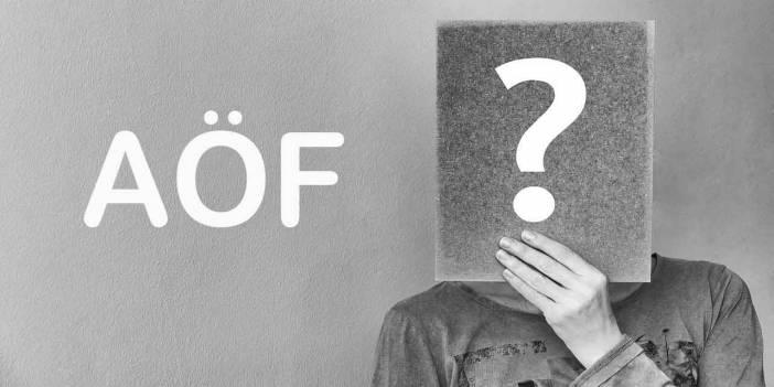 8-9 Eylül AÖF Bütünleme Sınavı Giriş Yerleri - Giriş Belgesi