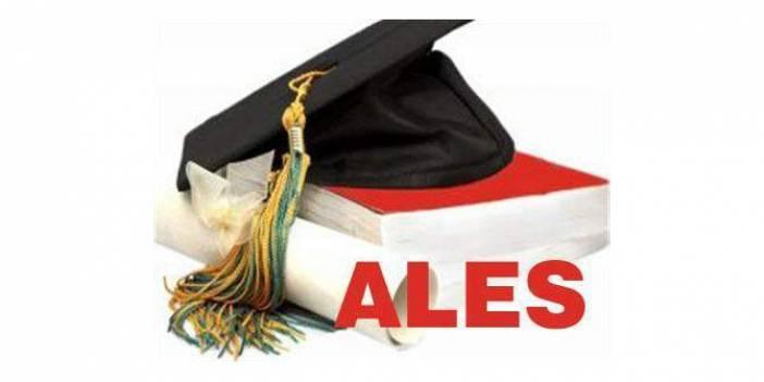 2015 ALES Akademik Personel ve Lisansüstü Eğitimi Giriş Sınavı (Sonbahar Dönemi) ne zaman?