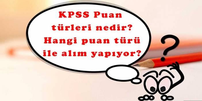 KPSSP21 Puan türü nedir nasıl hesaplanır