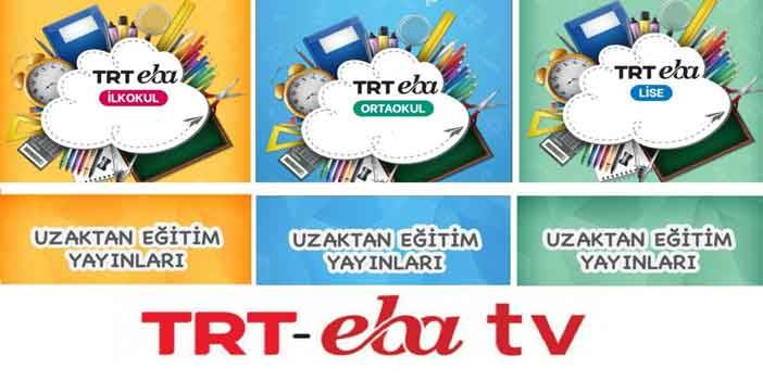 TRT EBA TV İlkokul Canlı izle